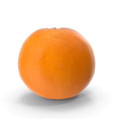 Orange einzeln